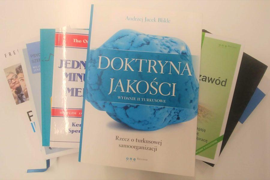 """Polecamy: """"Doktryna jakości. Rzecz o turkusowej samoorganizacji"""" Andrzej Jacek Blikle"""